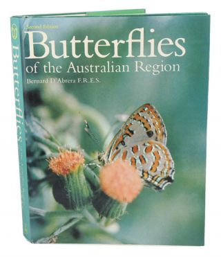 Butterflies of the Australian region. Bernard D'Abrera
