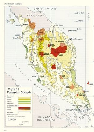 The conservation atlas of tropical forests: Asia and the Pacific.