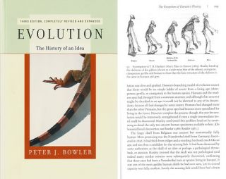 Evolution: the history of an idea. Peter J. Bowler.