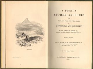 A short tour in Sutherland, with extracts from the field-books of a sportsman and naturalist.