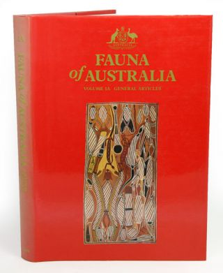 Fauna of Australia, Volume 1A: General articles. G. R. Dyne, D. W. Walton