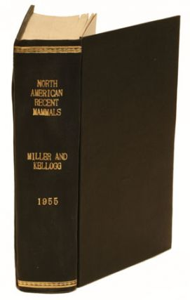List of North American recent mammals. Gerrit S. Miller, Remington Kellogg.