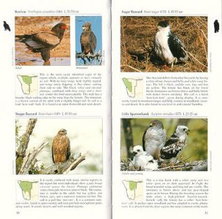 A photographic guide to birds of Namibia.