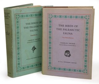 The birds of the Palearctic fauna