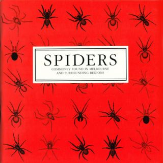 Spiders commonly found in Melbourne and surrounding regions. Ken Walker, Graham A. Milledge