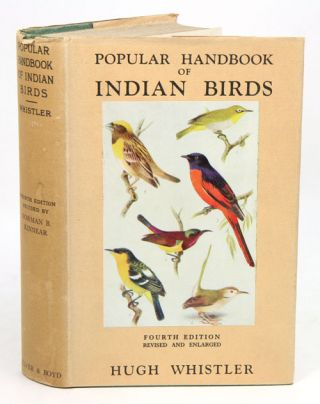 Popular handbook of Indian birds. Hugh Whistler