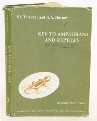 Key to amphibians and reptiles