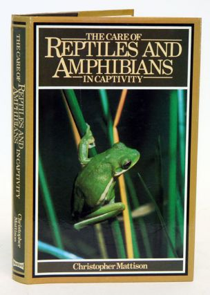 The care of reptiles and amphibians in captivity. Chris Mattison
