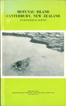 Motunau Island Canterbury, New Zealand: an ecological survey. J. E. Cox