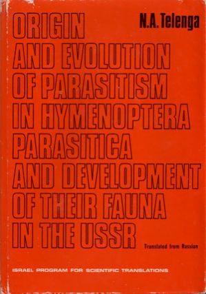 Origin and evolution of parasitism in hymenoptera parasitica and development of their fauna in...