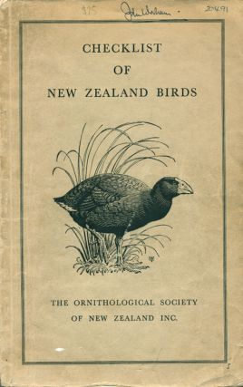 Checklist of New Zealand birds. C. A. Fleming.
