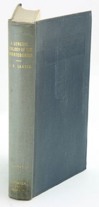A general zoology of the invertebrates. G. S. Carter