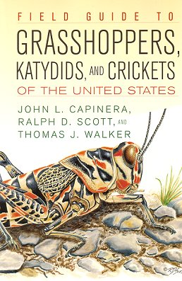 Field guide to grasshoppers, katydids, and crickets of the United States. John L. Capinera.
