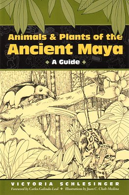 Animals and plants of the ancient Maya. Victoria Schlesinger