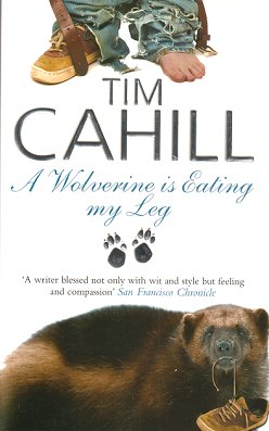 A wolverine is eating my leg. Tim Cahill