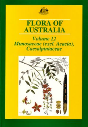 Flora of Australia, volume twelve. Mimosaceae (excluding Acacia), Caesalpiniaceae.