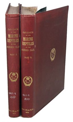 A descriptive catalogue of the marine reptiles of the Oxford Clay. Based on the Leeds collection. Charles William Andrews.