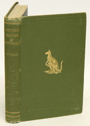 A sketch of the Natural history of Australia, with some notes on sport. Frederick Aflalo
