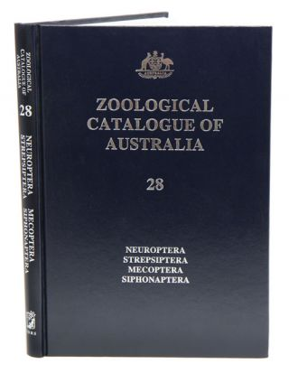 Zoological Catalogue of Australia, volume 28: neuroptera, strepsiptera, mecoptera, siphonaptera....