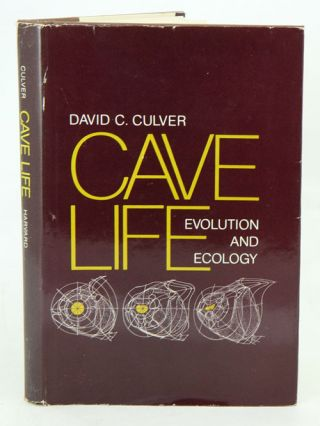 Cave life: evoloution and ecology. David C. Culver