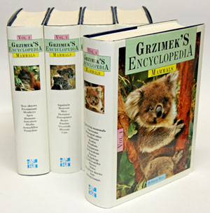 Grzimek's encyclopedia of mammals. Bernhard Grzimek.