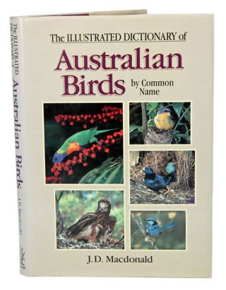 The illustrated dictionary of Australian birds by common name