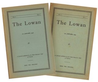 The Lowan, parts one and two [all published]. R. S. Miller
