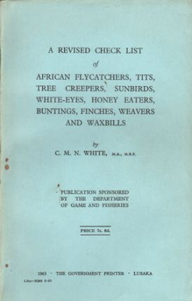 A revised checklist of African flycatchers, tits, tree creepers, sunbirds, white-eyes, honey...