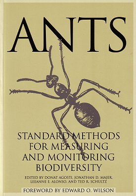 Ants: standard methods for measuring and monitoring biodiversity. Donat Agosti