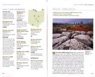 National Geographic guide to birding hotspots of the United States.