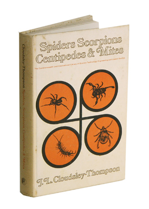 Spiders, scorpions, centipedes and mites. J. L. Cloudsley-Thompson