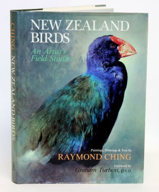New Zealand Birds: an artist's field studies