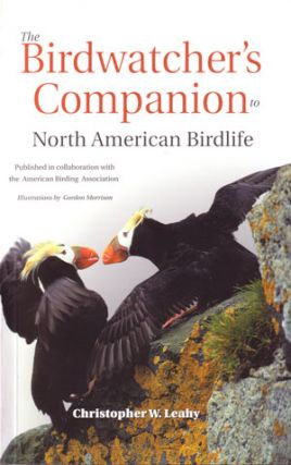 The birdwatcher's companion to North American birdlife