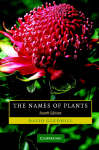 The names of plants. David Gledhill