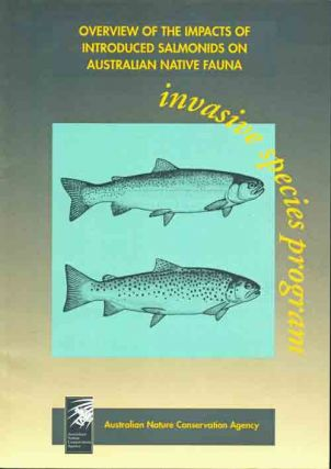 Overview of the impacts of introduced Salmonids on Australian native fauna. P. L. Cadwallader