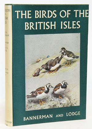 The birds of the British Isles, volume nine. David A. Bannerman