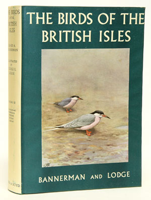 The birds of the British Isles, volume eleven. David A. Bannerman