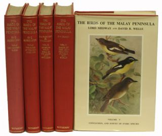 The birds of the Malay Peninsula: a general account of the birds inhabiting the region from the Isthmus of Kra to Singapore with the adjacent islands. Herbert C. Robinson, Frederick N. Chasen.