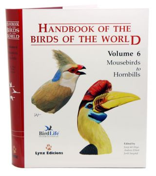Handbook of the birds of the world [HBW], volume six: mousebirds to hornbills. Josep del Hoyo
