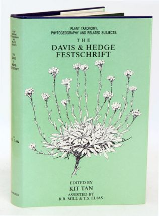 Plant taxonomy, phytogeography and related subjects: the Davis and Hedge Festschrift