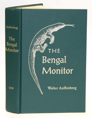 The Bengal monitor. Walter Auffenberg