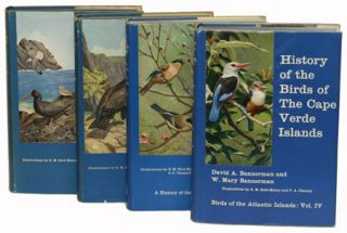 Birds of the Atlantic islands. David Armitage Bannerman, and W. Mary Bannerman