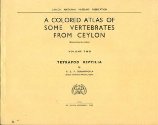 A colored atlas of some vertebrates from Ceylon, volume two: Tetrapod Reptilia. P. E. P....