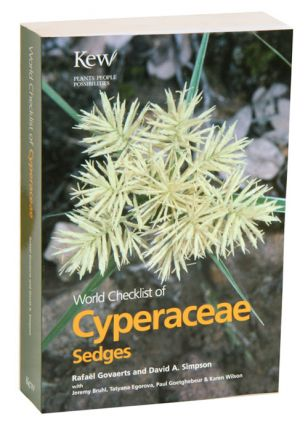 World checklist of Cyperaceae: Sedges. Rafael Govaerts, David Simpson