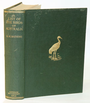 A list of the birds of Australia: containing the names and synonyms connected with each genus,...