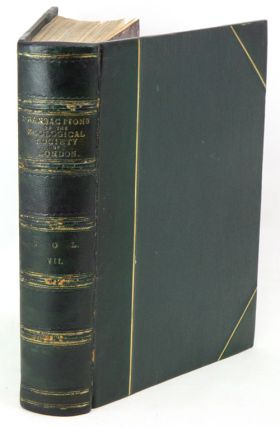 Transaction of the Zoological Society of London: volume seven.