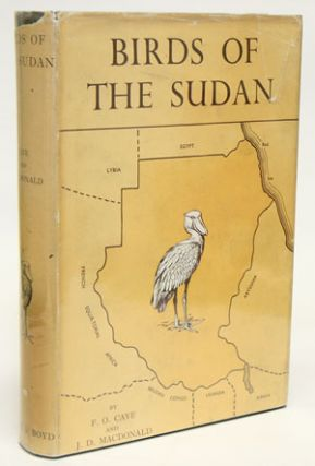 Birds of the Sudan: their identification and distribution.