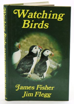 Watching birds. James Fisher, Jim Flegg