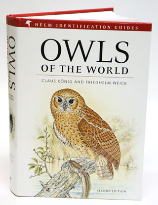 Owls of the world. Claus Konig, Freidhelm Weick