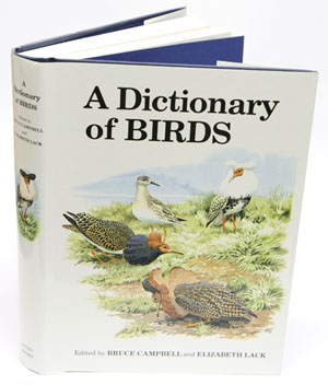 A dictionary of birds
